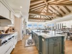 Kitchen with Ocean Views at 10 East Wind